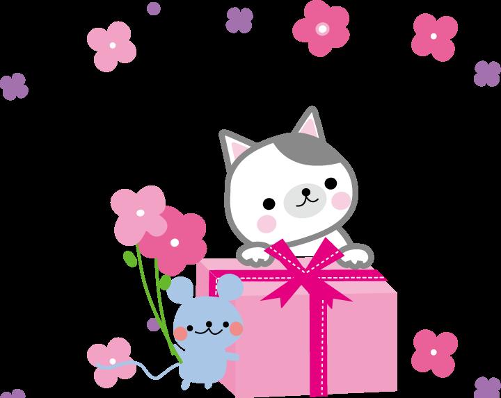 同年代の女性の誕生日プレゼントに悩んでます。 彼女は猫好きなので、猫グッズをあ