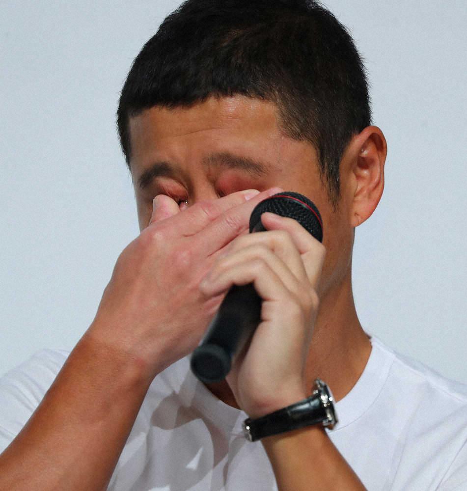 前澤友作氏、目を潤ませ社員に感謝「僕が辞めるとは予想もしてなかったみたいで…」